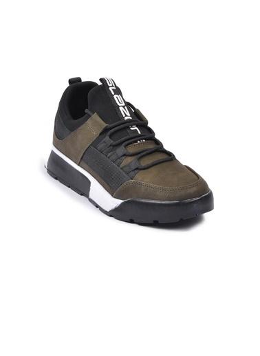 Slazenger Zeber Haki Unisex Spor Ayakkabı Haki